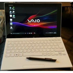 VAIO Tap 11 Tablet Slim laptop Note Pen Core i5 128GB 11.6